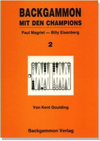 Cover: Goulding - Backgammon mit den Champions 2